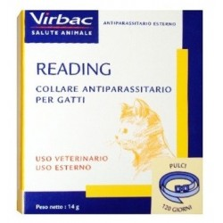 Virbac Collare Antiparassitario Gatto Reading