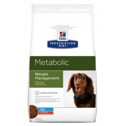 Hill's Prescription Diet Metabolic Mini Cane al Pollo 6 kg
