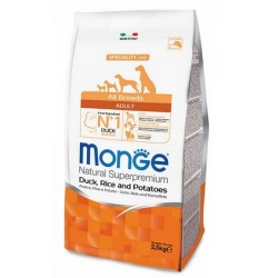 Monge All Breeds Adult Anatra, Riso e Patate 2,5 kg