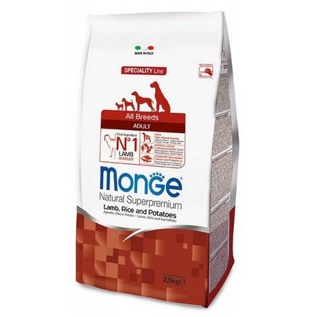 Monge All Breeds Adult Agnello, Riso e Patate 2,5 kg