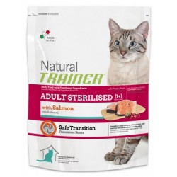 Natural Trainer Cat Sterilised Salmone 300 gr