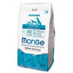 Monge Hypoallergenic Cane Salmone e Tonno 2,5 kg