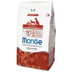 Monge All Breeds Puppy & Junior Agnello e Riso 800 gr