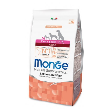 Monge Extra Small Adult Salmone e Riso 800 gr