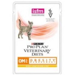 Purina Obesity Management Gatto OM St/Ox con Pollo 10 x 85 gr