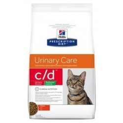 C/D RED/CAL STRESS FELINE 1,5 KG