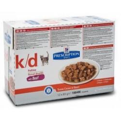 K/D FELINE BEEF BS 12X85GR