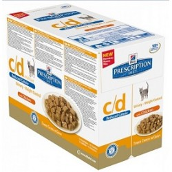 C/D REDUCED CALORIE FELINE BS 12X850GR CHK