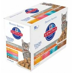 STERILIZED FELINE MULTIPAK 12x85GR
