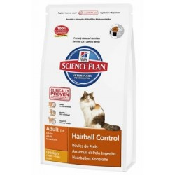 Hill's Science Plan Gatto Adult Hairball Control Pollo 1,5 kg