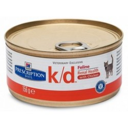 K/D FELINE MINCED 156 GR.