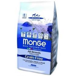 MONGE GRAIN FREE ACCI/PAT/PIS 12KG