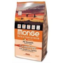 MONGE GRAIN FREE ANA/PAT 2,5KG