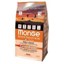 MONGR GRAIN FREE MINI ANA/PAT 2,5KG