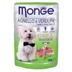 MONGE GRILL DOG BUSTE AGN/VERD 100GR
