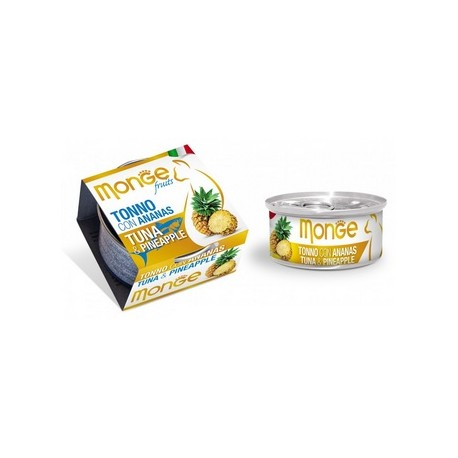MONGE CAT FRUIT TONNO CON ANANAS 80GR