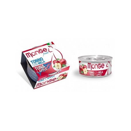 MONGE CAT FRUIT TONNO CON MELA 80GR