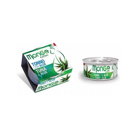 MONGE CAT FRUIT TONNO CON ALOE 80GR