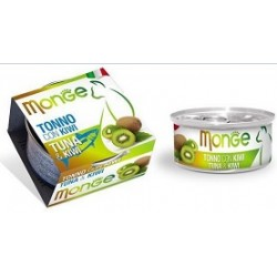 MONGE CAT FRUIT TONNO CON KIWI 80GR
