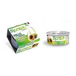 MONGE CAT FRUIT POLLO CON PAPAYA 80GR