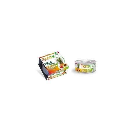 MONGE CAT FRUIT POLLO CON FRUTTA 80GR