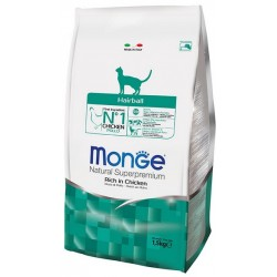 MONGE CAT HAIRBALL 1.5KG