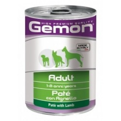 GEMON DOG ADULT AGNELLO PATE 400GR