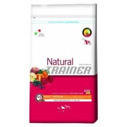 NATURAL ADULT MED POL/RIS 3KG