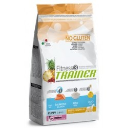 FITNESS PUPPY MED/MAX SALM 3KG