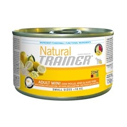 Natural Trainer Adult Mini Pollo/Riso/Aloe Vera 150 g