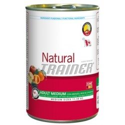 NATURAL ADULT MED MANZO BOC 400GR