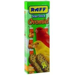 RAFF STAR STICK OVOMIEL CANAR 2X60GR