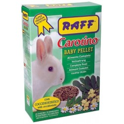 RAFF CAROTINO BABY PELLET 800GR
