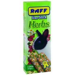 Raff Star-Stick Herbs Conigli Nani 2x112 gr