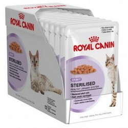 STERILISED FELINE GRAVY 85GR BS