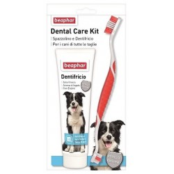Beaphar Dental Care Kit Spazzolino+Dentifricio