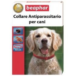Beaphar Collare Cane Antiparassitario Blu/Rosso