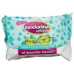 Inodorina Salviette Detergenti Muschio Bianco