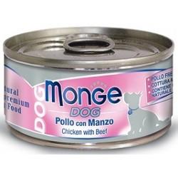 Monge Dog Pollo Con Manzo 95 gr