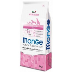 Monge All Breeds Adult Maiale, Riso e Patate 12 kg