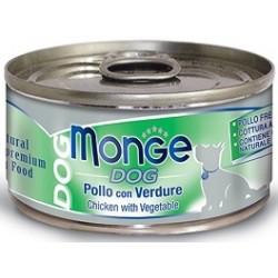 Monge Dog Pollo con Verdure 95 gr