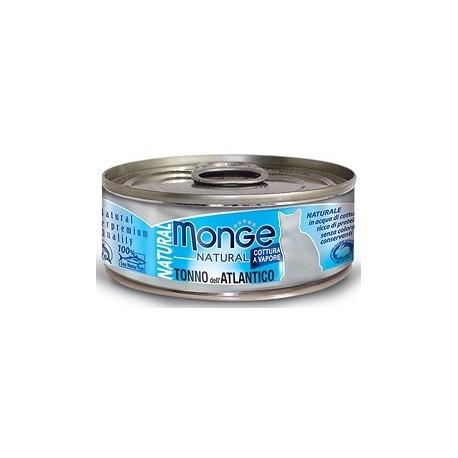 Monge Natural Gatto Tonno del Pacifico con Salmone 80 gr