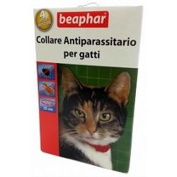 Beaphar Collare Antiparassitario Gatto Rosso/Blu 35cm