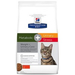 Hill's Prescription Diet Feline Metabolic + Urinary Stress 1,5 kg