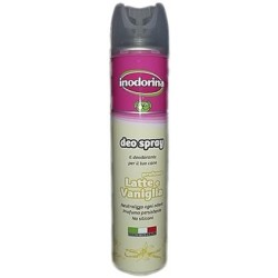 Inodorina Deodorante Deo Spray Latte e Vaniglia 300 ml
