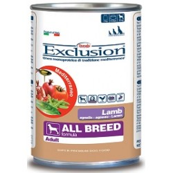 Exclusion Mediterraneo Adult All Breed Agnello 400 gr