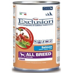 Exclusion Mediterraneo Adult All Breed Salmone 400 gr