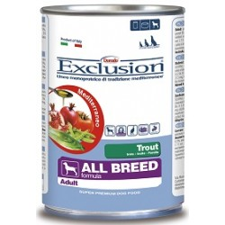 Exclusion Mediterraneo Adult All Breed Trota 400 gr
