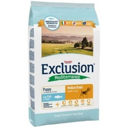 Exclusion Mediterraneo Puppy Medium Breed Pesce 3 kg