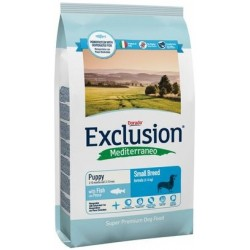 Exclusion Mediterraneo Puppy Small Breed Pesce 800 gr